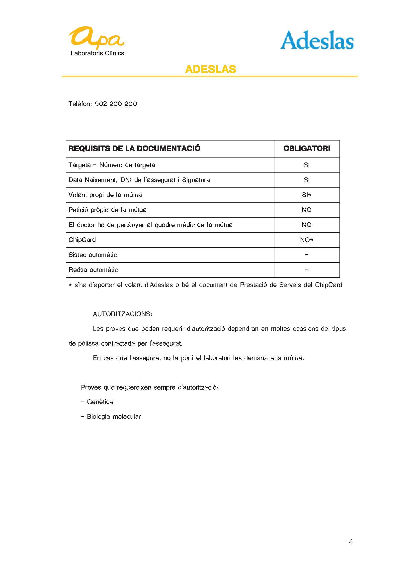 requisits-mutues-2016-adeslas